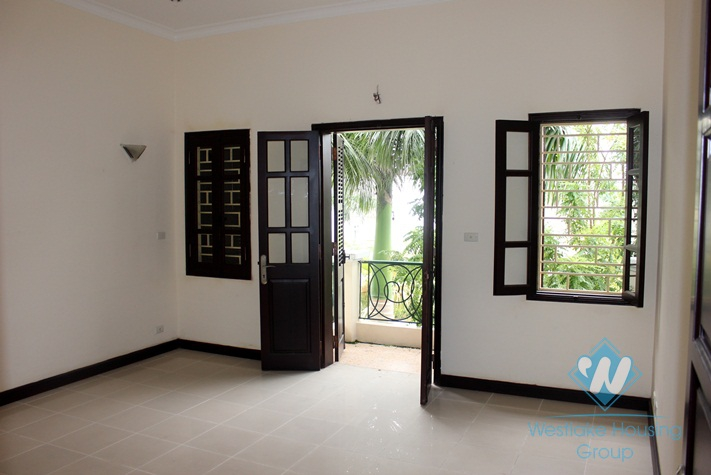 Furnished  house for rent in Ciputra, Tay Ho, Ha Noi