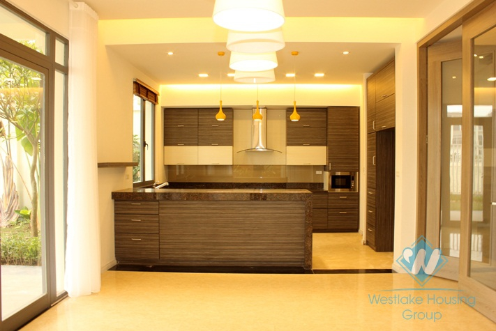 Nice house with nice garden for rent in Ciputra, Tay Ho, Ha Noi