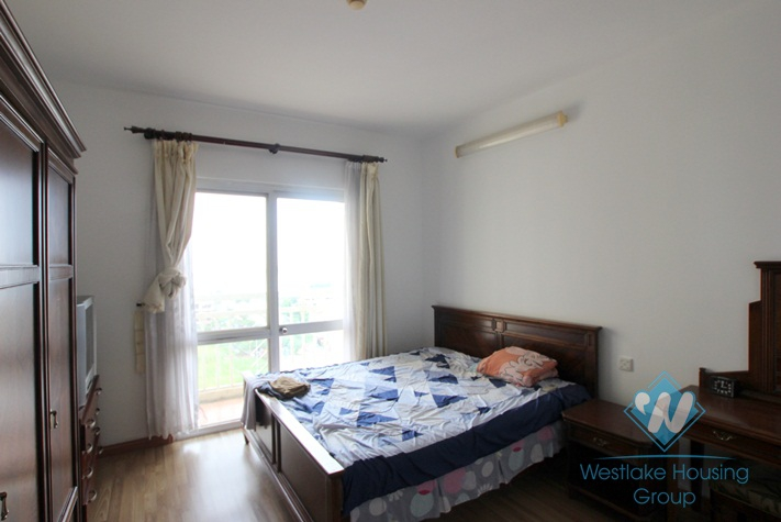 High floor with nice view apartment for rent in G tower, Ciputra, Tay Ho, Ha Noi
