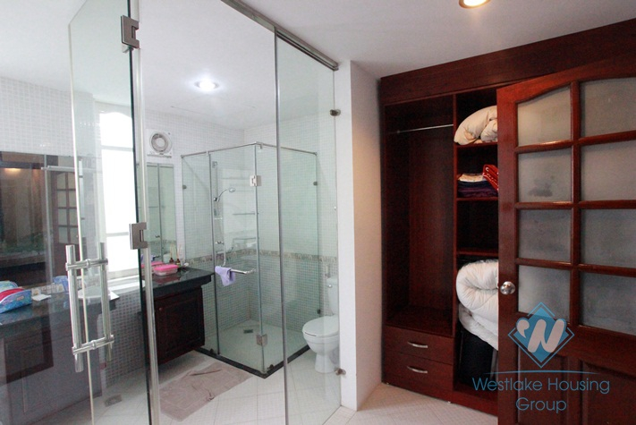 Quality house with swimming pool for rent in Tay Ho area