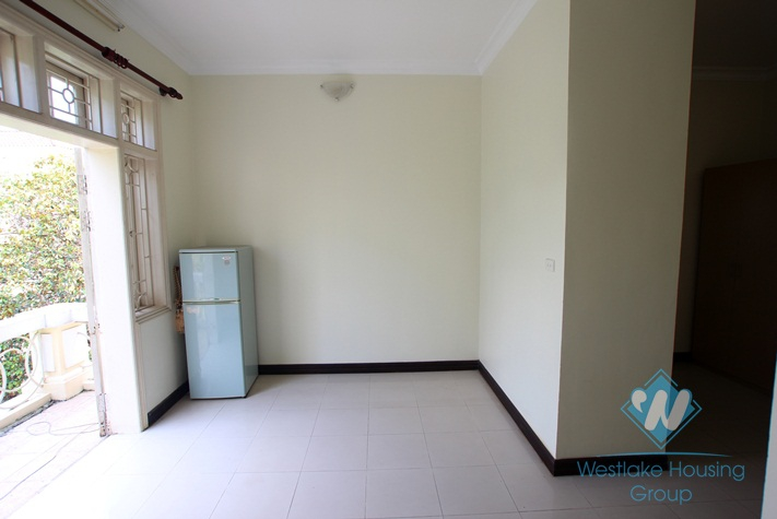 Block D, House with nice garden for rent in Ciputra, Tay Ho, Ha Noi