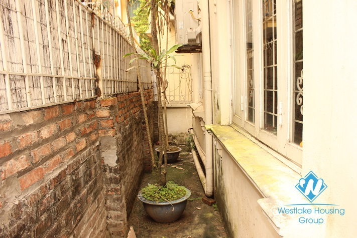 3 bedrooms house with large yard for rent in To Ngoc Van st, Tay Ho, Ha Noi