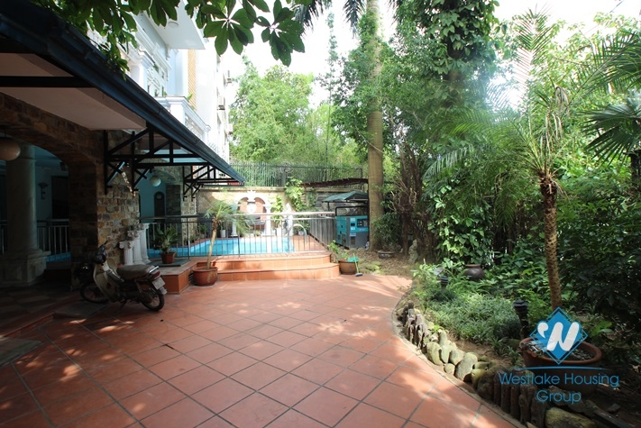 Fantastic house with 5 bedrooms, swimming pool for rent in To Ngoc Van, Tay Ho