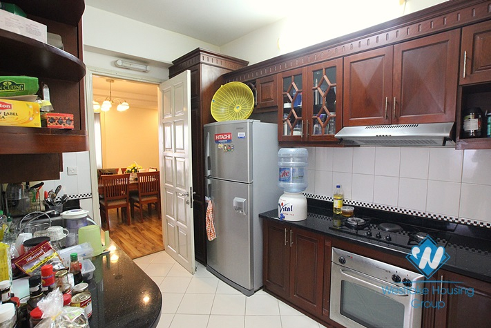 Fully furnished apartment for lease in Ciputra, Tay Ho, Ha Noi