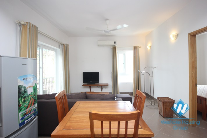 One bed apartment with a lot of natural light for rent in Ngoc Ha, Ba Dinh, Hanoi
