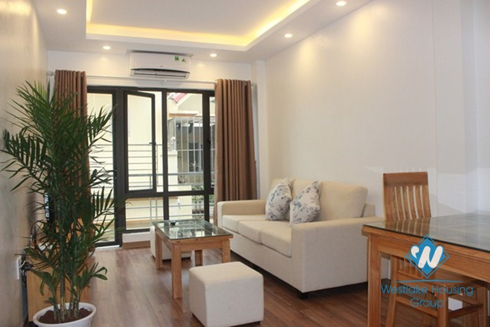 Small and cozy apartment  with outdoor balcony for rent in Cau Giay, Hanoi