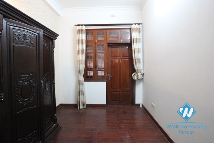 Fully-furnished house for rent in Dan Thai Mai st, tay Ho, Ha Noi