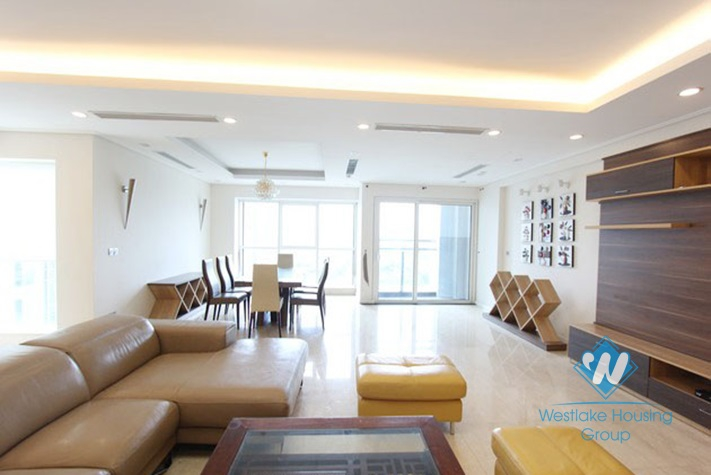 Large size wonderful apartment for rent in Ciputra Compound, Tay Ho, Hanoi