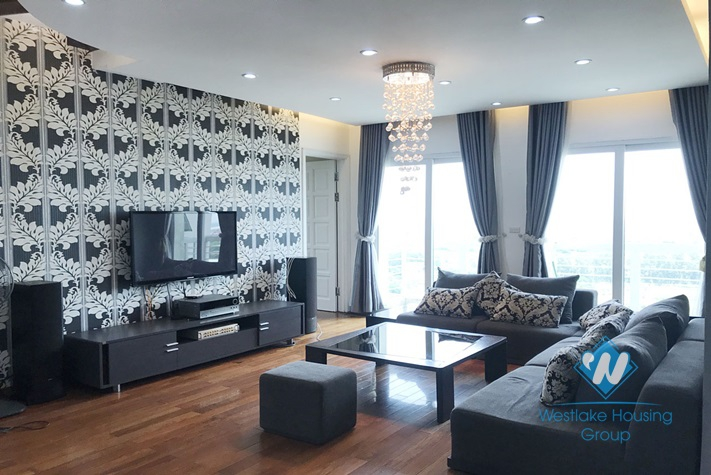 Fully furniture Apartment in E tower Ciputra for rent.
