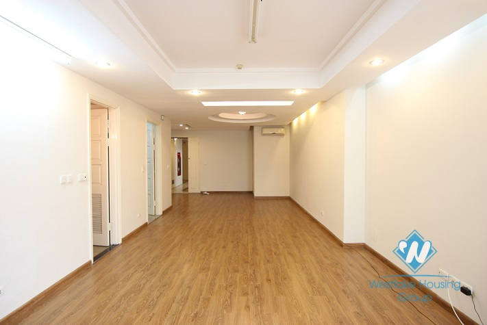 Unfurnished two bedrooms apartment in E block Ciputra for rent.