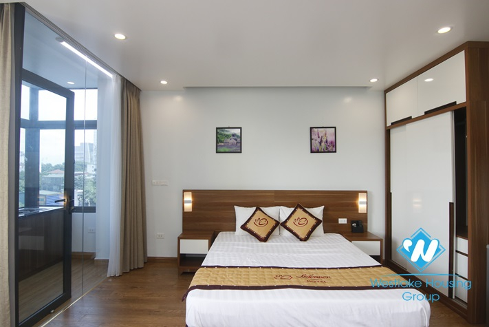 Good choice Studio for rent in Nguyen Khoai street, Hai Ba Trung district.