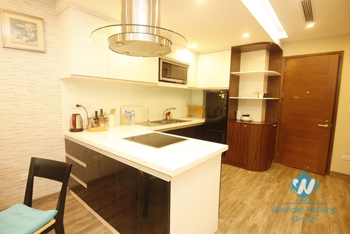A beautiful apartment with lake view for rent in Truc Bach, Ba Dinh, Ha noi