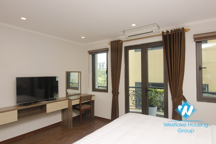 Studio with living sapce up to 45sqm for rent in Hai Ba Trung, Hanoi.