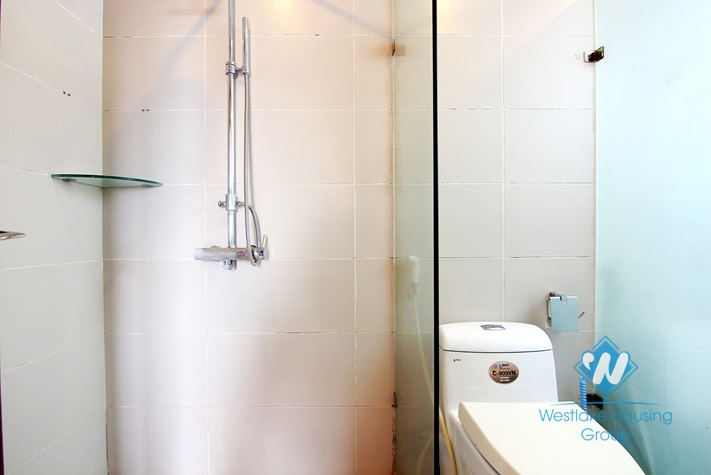 High floor apartment for rent in Tay Ho area, Ha Noi