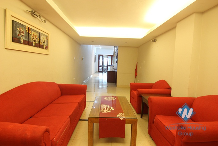 A beautiful 4 bedroom house for rent in Ba Dinh, Ha Noi