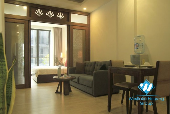 A Beautiful 01 bedroom apartment for rent in Hoan Kiem district.