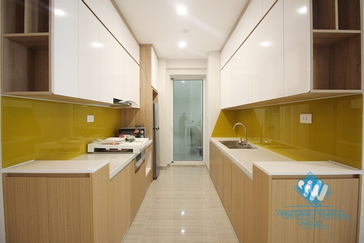 New and clean  three bedrooms apartment for rent in L3 Ciputra uban, Ha Noi