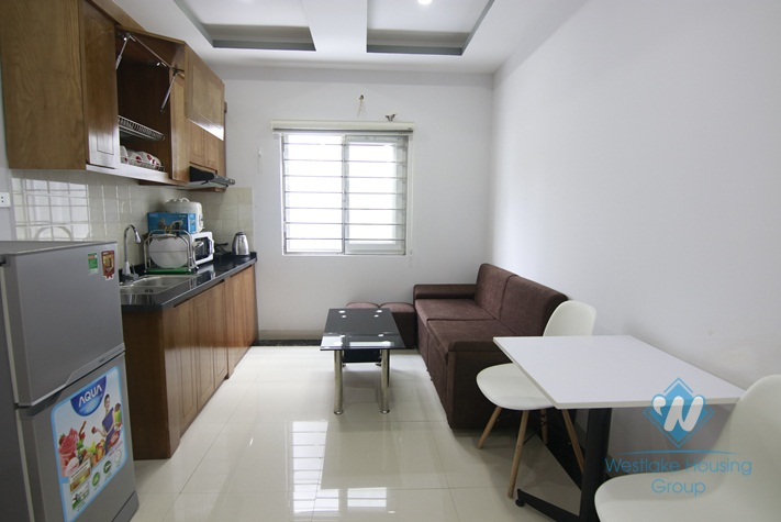 One bedroom apartment for rent in Nui Truc street, Ba Dinh district, Ha Noi
