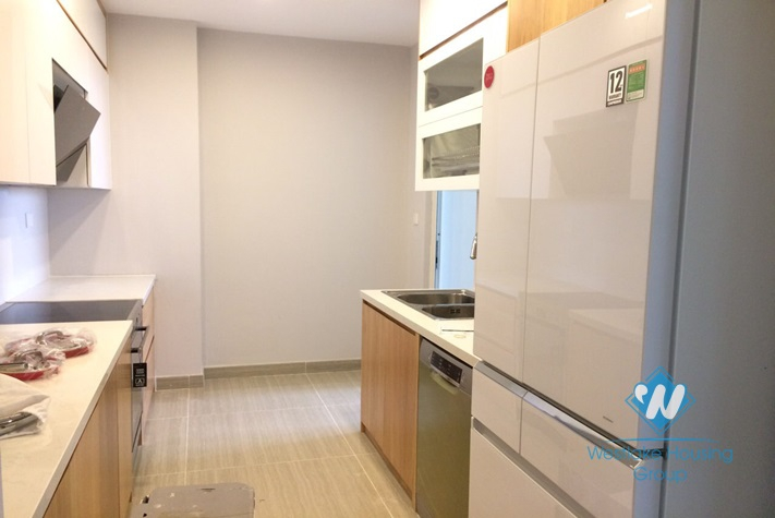 New and clean three bedrooms apartment for rent in L3 Ciputra, Ha Noi