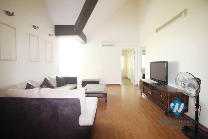 A spacious and elegant 4 bedroom apartment for rent in Ciputra