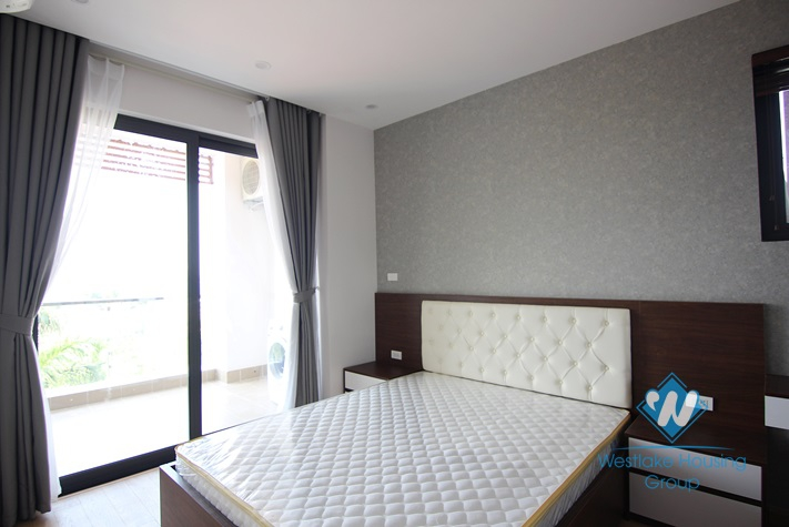 Bright and Brandnew One Bedroom Apartment For Rent In Tay Ho Area.