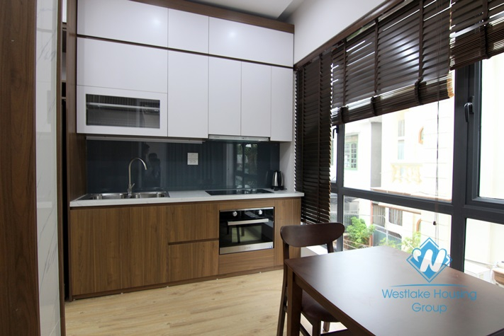 A Morden One bedroom apartment for rent in Tay Ho district.