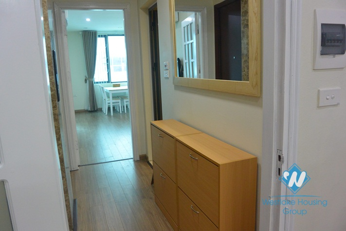A nice and good-priced 1 bedroom apartment for rent on Hoang Quoc Viet, Cau Giay District