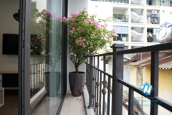 A cozy with stylish furniture 1 bedroom  apartment for rent in Ba Dinh District