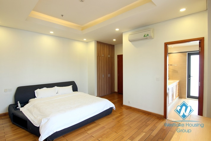 Duplex apartment with 3 bedrooms for rent in Trinh Cong Son st, Tay Ho District
