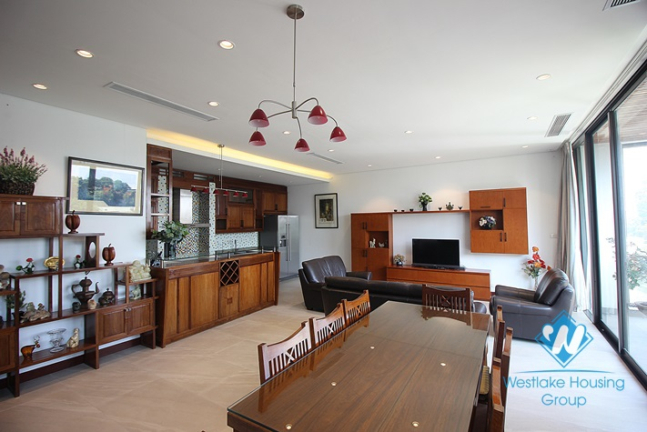 Luxury one bedroom apartment with lakeview in Tay Ho