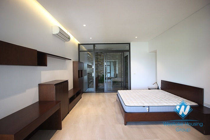 A brand new apartment with high quality furnitures and services for rent in Tay Ho, Ha Noi