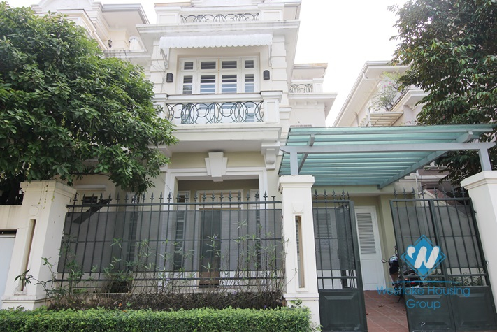 Fully furnished house for lease in Ciputra, Tay Ho, Ha Noi