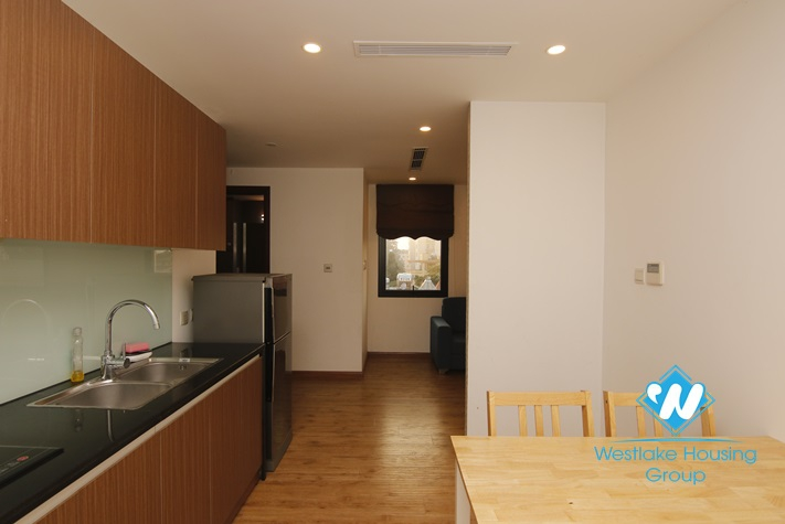 Two bedroom apartment for rent in Hoan Kiem district.