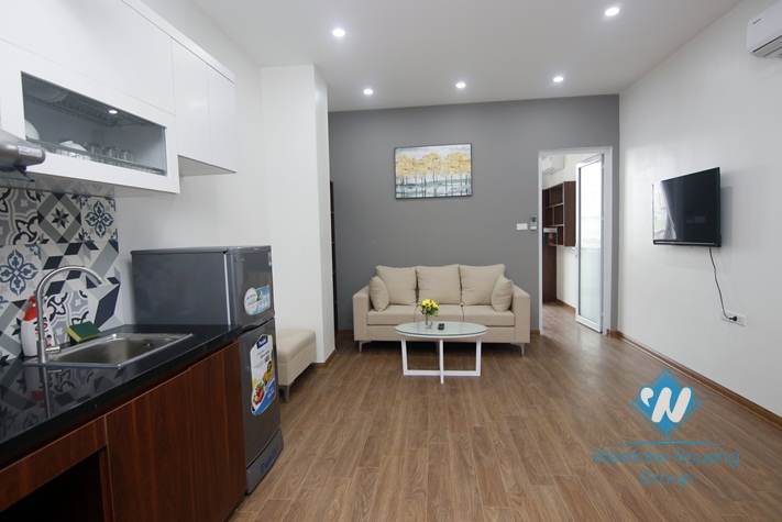 A brand new 1 bedroom apartment for lease in Cau giay