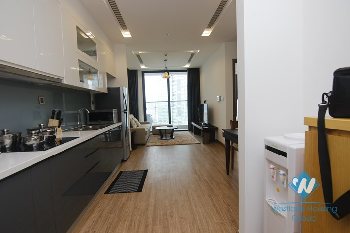 A wonderful and modern 1 bedroom apartment for rent in Ba Dinh District