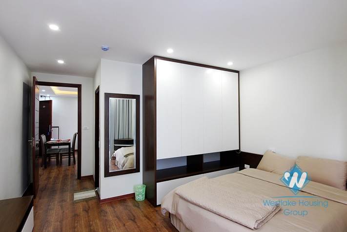 Brand new and morden 2 bedrooms apartment for rent in To Ngoc Van st, Tay Ho area.