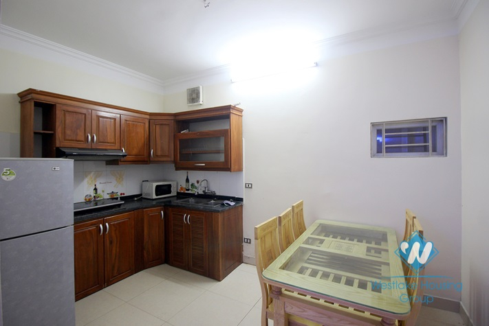 Cheap house with 4 bedrooms for rent in Au Co street, Tay Ho district.