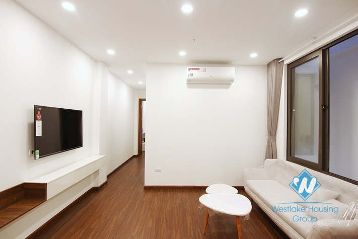 Modern and brand new 2 bedrooms apartment for rent in Yen Phu village.