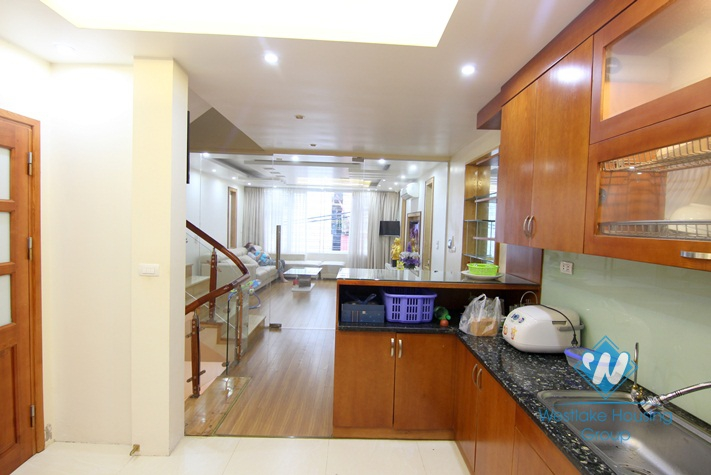 An afforable and lovely house for rent on Au Co street, Tay Ho District