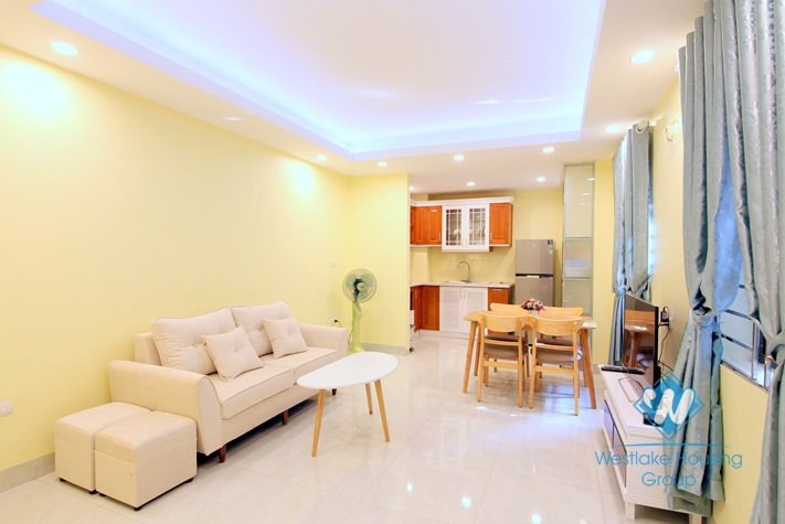 A new-finished beautiful 1 bedroom apartment with lake view for rent in Tay Ho District