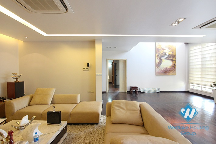Gorgeous house with big living room in Westlake Tay Ho, Hanoi, Vietnam area for rent