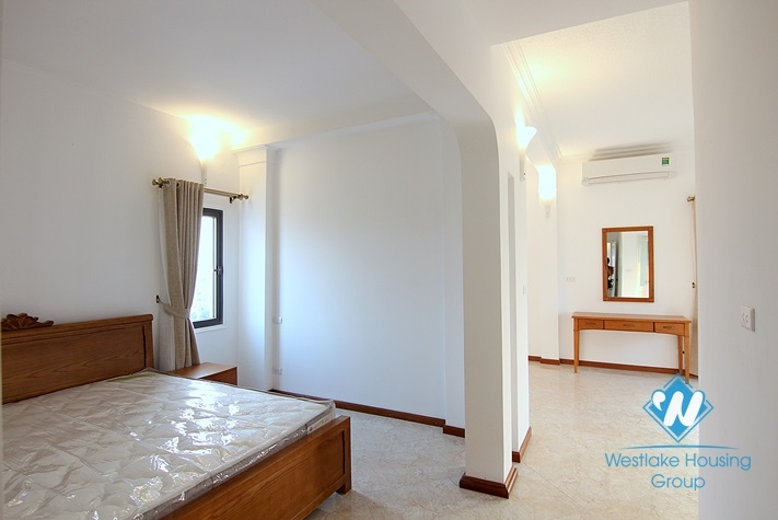 Beautiful 4 bedrooms with big balcony apartment for rent in Tay Ho District