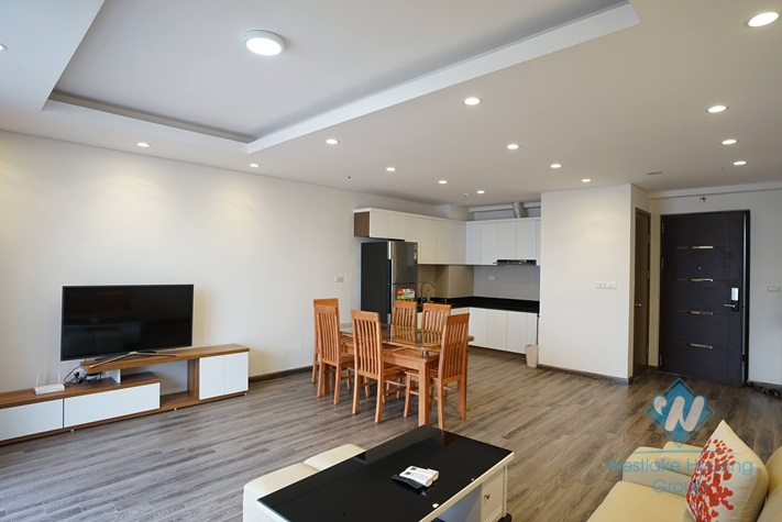 Very nice two bedrooms apartment for rent in Hong Kong tower, Cau Giay district, Ha Noi