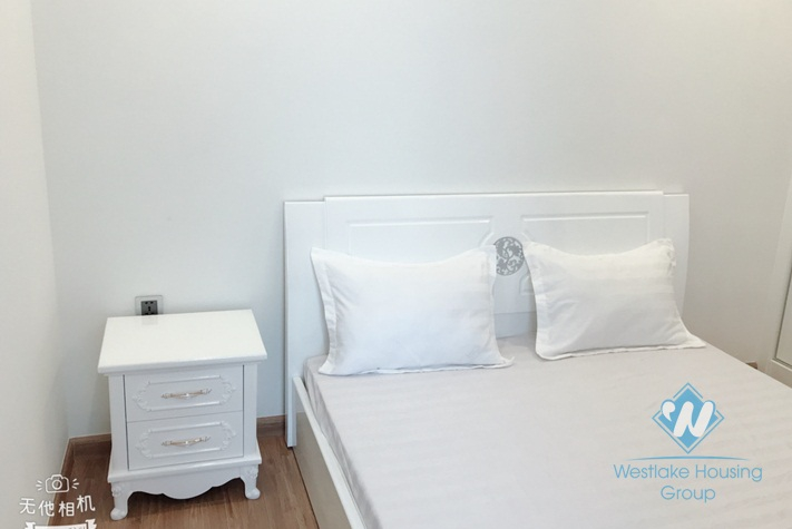 Furnished two bedrooms apartment for rent in Vinhome Metropolis, Ba Dinh district, Ha Noi