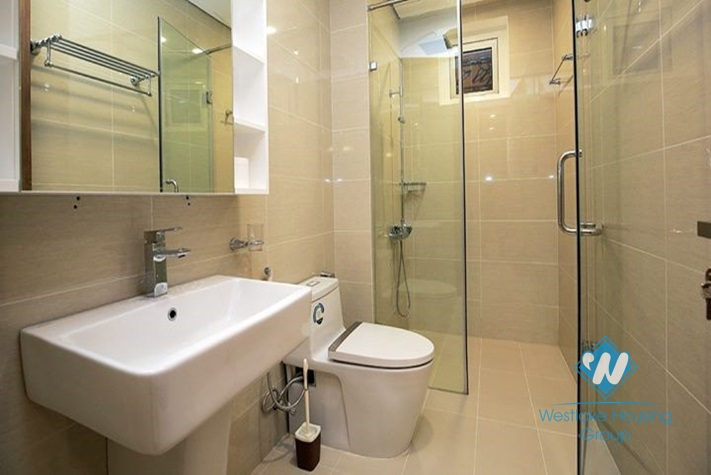 A furnished and elegant 3 bedroom apartment for rent in Ciputra, Tay Ho
