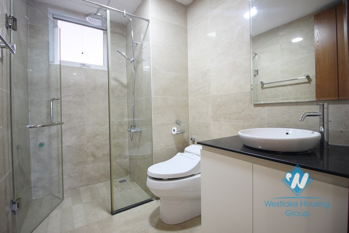 A beautiful and newly-finished 3 bedroom apartment for rent in Ciputra L Tower