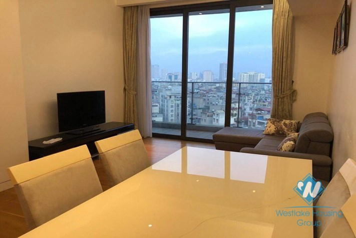 02 bedrooms with fully furnished for rent in Indochina Plaza
