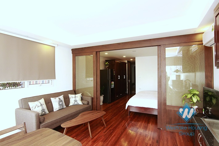 Brand new and Spacious Studio for rent in Nam Ngu st, Hoan Kiem area.