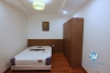 Bright and Morden 3 bedrooms apartment for rent close to Quang An street, Tay Ho district.