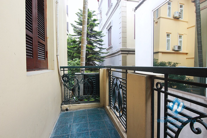 Three bedrooms house with big terrace for rent in Tay Ho area.